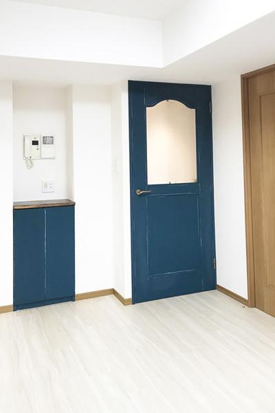 ドア塗り替え リノベーション後