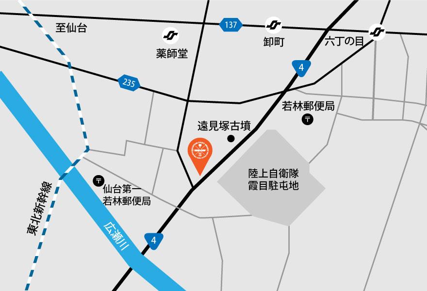 櫻一スタイル 地図