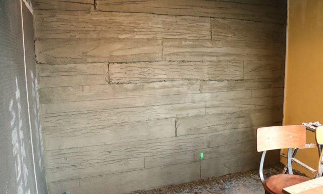 デザインコンクリート 木