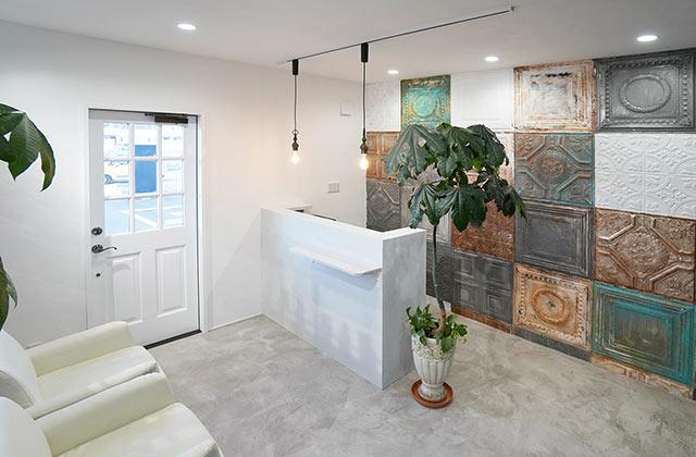 新築 美容室 デザイン